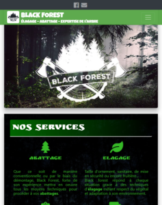 Black forest sur tablette