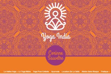 bannière yoga india